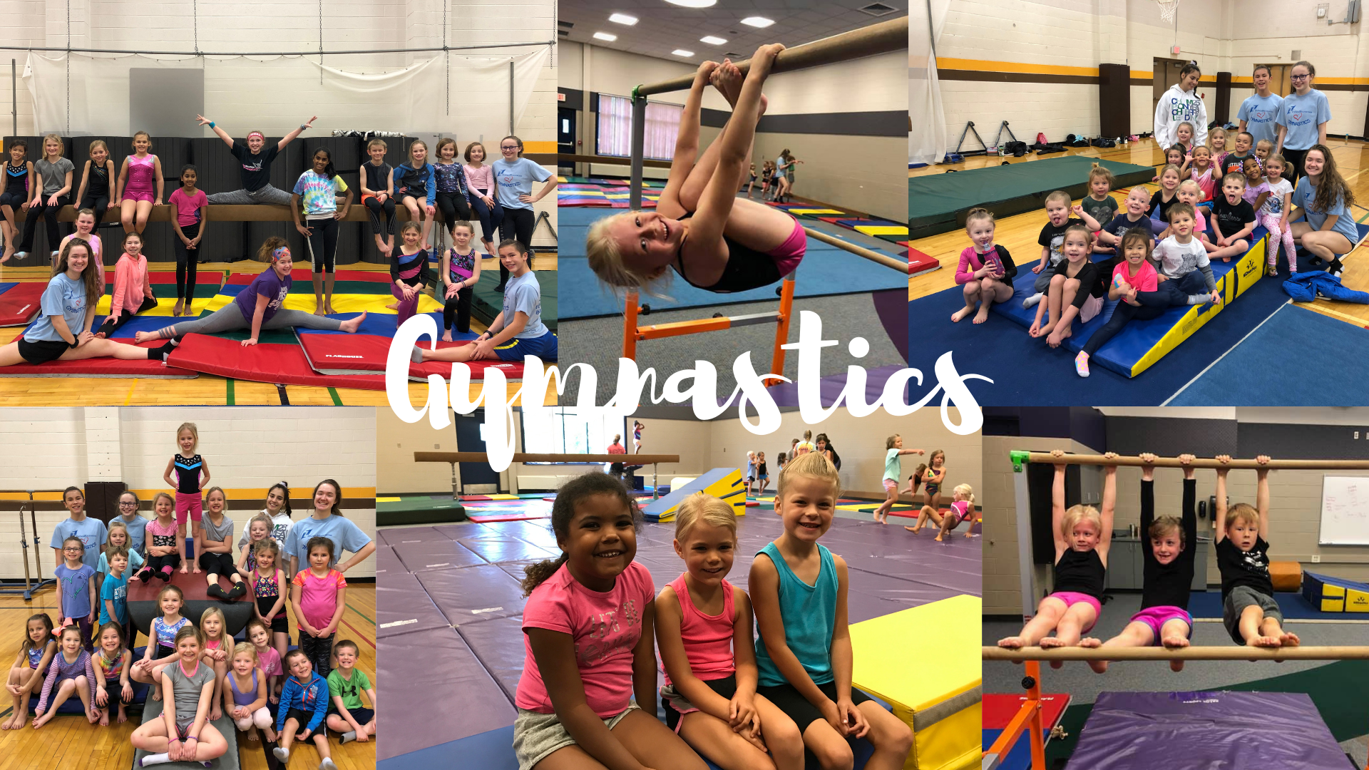 Youth group gymnastics pictures