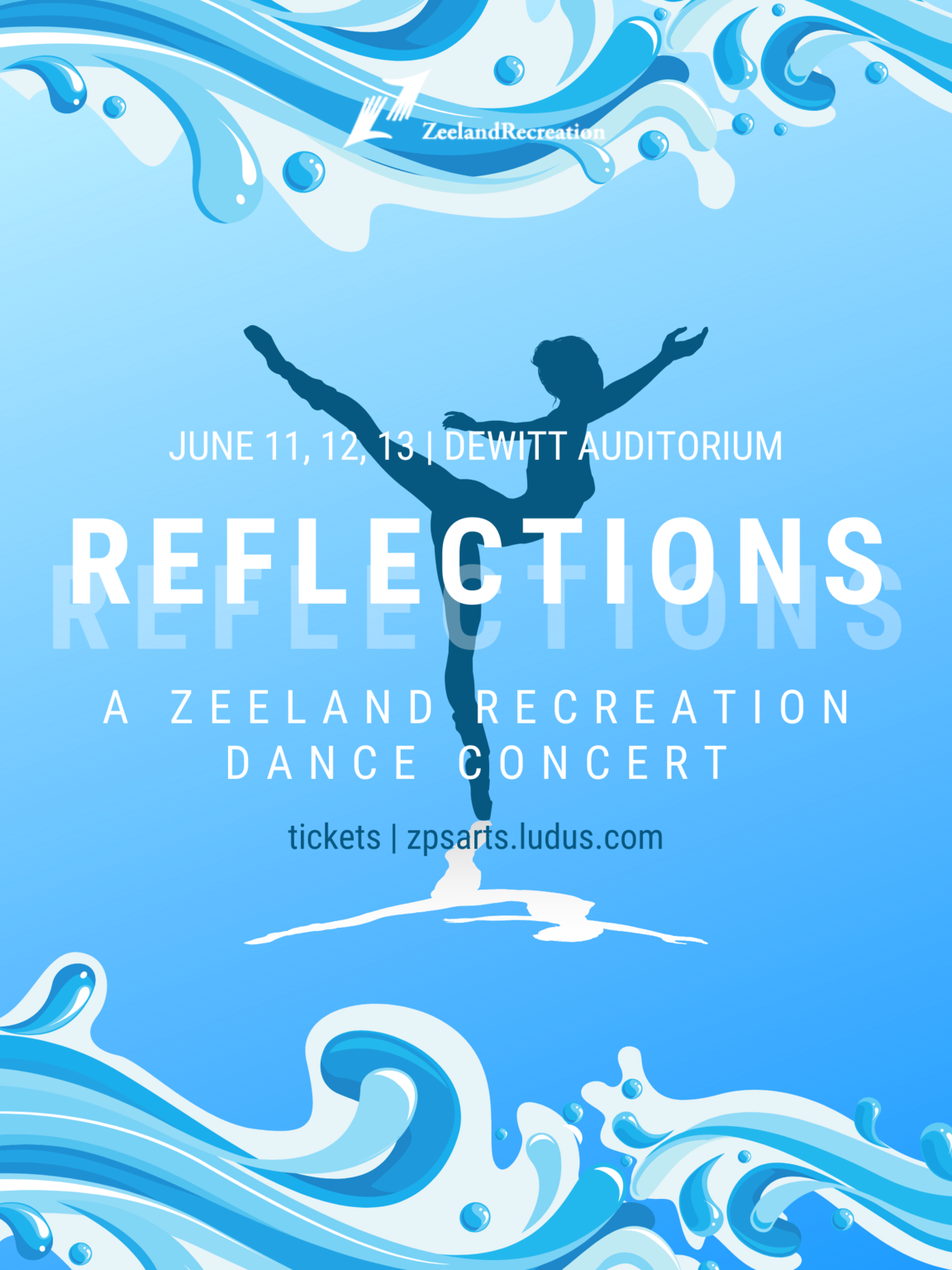 Reflections Dance Poster